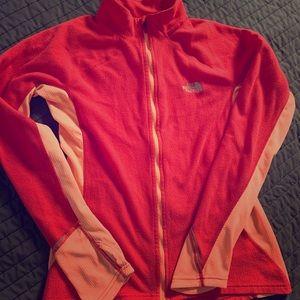 2 piece Northface jacket and shirt